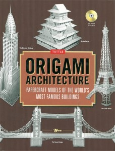 ORIGAMI ARCHITECTURE: Papercraft Models Of The World`s Most Famous Buildings